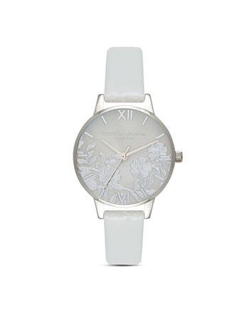Olivia Burton - Floral-Pattern Watch, 30mm