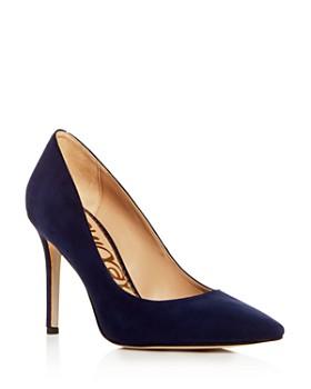 9940669632cbfe Sam Edelman - Women s Hazel Pointed Toe High-Heel Pumps ...