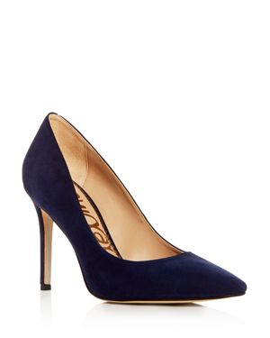 WOMEN'S HAZEL SUEDE POINTED TOE PUMPS