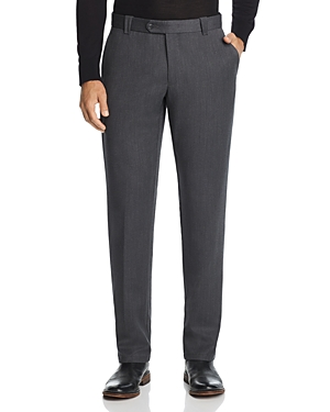 The Men's Store at Bloomingdale's Twill Tailored Fit Dress Pants - 100% Exclusive