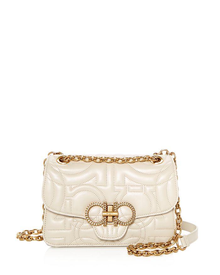 7039a1f07c Salvatore Ferragamo Medium Quilted Leather Convertible Shoulder Bag ...