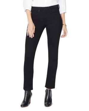 NYDJ Sheri Slim Ankle Jeans In Black