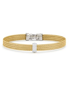 ALOR Cable Bangle Bracelet with Diamonds - Bloomingdale's_0