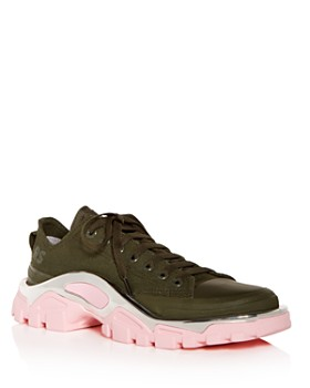 e0e0e0c90a7f4a Raf Simons for Adidas - Women's RS Detroit Runner Lace Up Sneakers ...