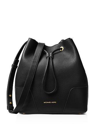 8cac82870589 MICHAEL Michael Kors Cary Medium Leather Bucket Bag | Bloomingdale's