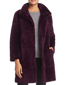 Maximilian Furs - Sheared Beaver Fur Coat - 100% Exclusive