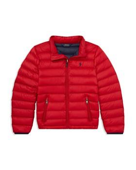 Ralph Lauren - Boys' Lightweight Packable Puffer Jacket - Big Kid