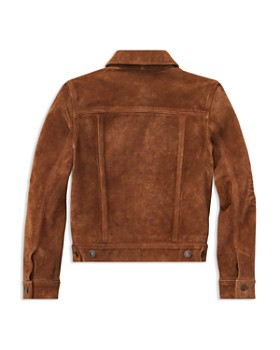 Ralph Lauren - Boys' Suede Trucker Jacket - Big Kid