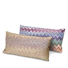 "Missoni - Jarris Jamilena Decorative Pillow, 12"" x 24"""