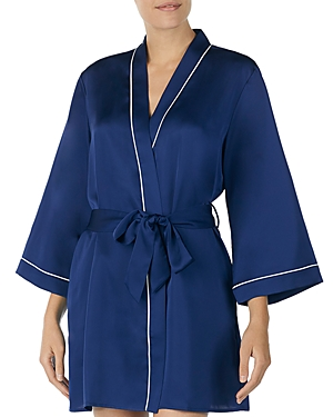kate spade new york Cat Satin Short Robe