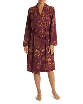 Midnight Bakery - Floral Satin Robe