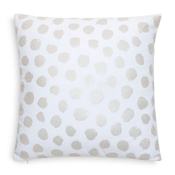 "kate spade new york - Pearlescent Dot Decorative Pillow, 18"" x 18"""