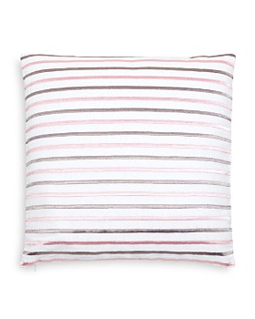 """kate spade new york - Embroidered Stripe Decorative Pillow, 18"""" x 18"""""""