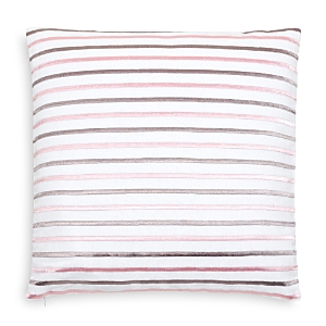 kate spade new york Embroidered Stripe Decorative Pillow, 18 x 18