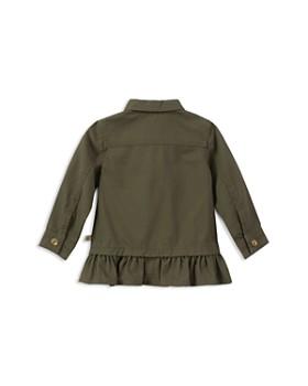 kate spade new york - Girls' Ruffled Field Jacket - Baby