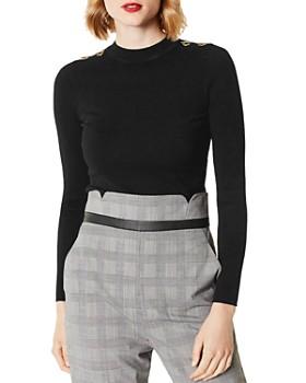 KAREN MILLEN - Hardware Detail Sweater