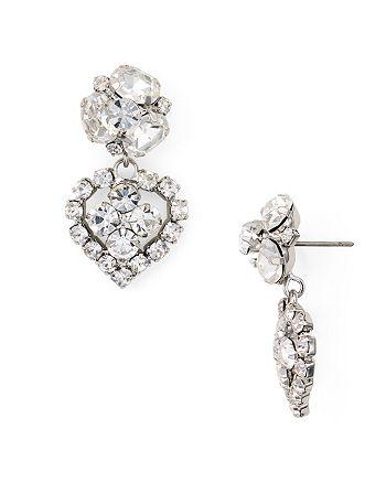 363bb7fb45914 Dannijo Tansy Pavé Cluster Drop Earrings | Bloomingdale's