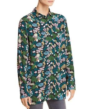 Maje - Citrus Tropical Floral-Print Shirt - 100% Exclusive