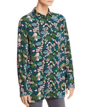 Maje Citrus Tropical Floral-Print Shirt - 100% Exclusive