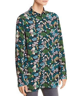 Maje Citrus Tropical Floral-Print Shirt - 100% Exclusive