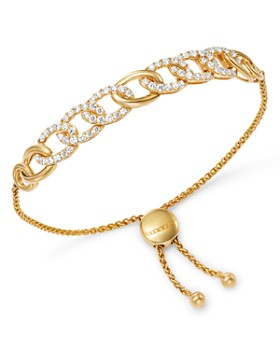 Bloomingdale's - Diamond Chain Bolo Bracelet in 14K Yellow Gold, 1.5 ct. t.w. - 100% Exclusive