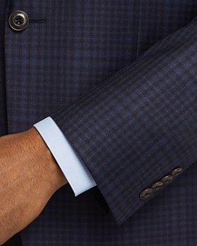 Jack Victor - Tonal Windowpane Check Regular Fit Sport Coat