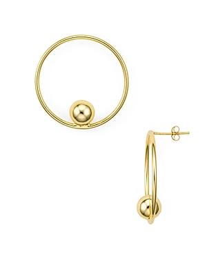 Aqua Loop & Sphere Drop Earrings in 18K Gold-Plated Sterling Silver - 100% Exclusive