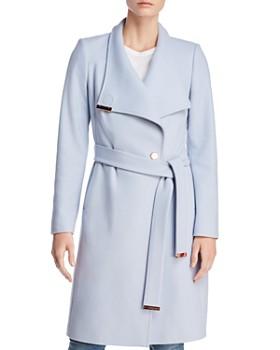 Ted Baker - Sandra Long Wrap Coat - 100% Exclusive