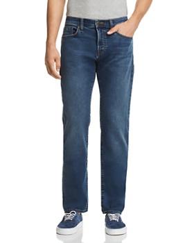 J Brand - Kane Straight Slim Fit Jeans in Bankso