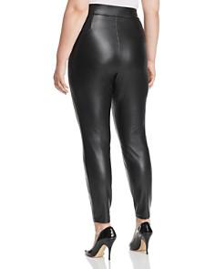 VINCE CAMUTO Plus - Faux-Leather Leggings