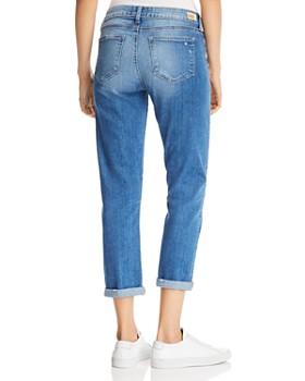 PAIGE - Brigitte Boyfriend Jeans in Madera