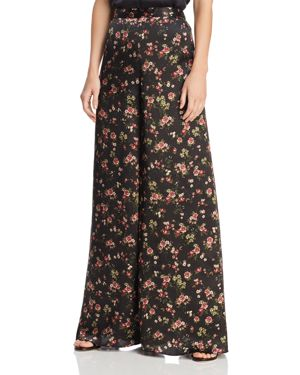 CAMI NYC TOMMY WIDE-LEG SILK PANTS