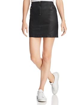 Rebecca Minkoff - Emery Zip-Detail Mini Skirt