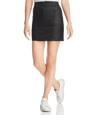 Emery Stretch Cotton Blend Mini Skirt, Myrah Skirt