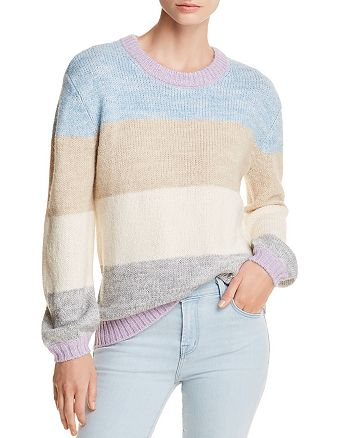 AQUA - Color-Block Sweater - 100% Exclusive