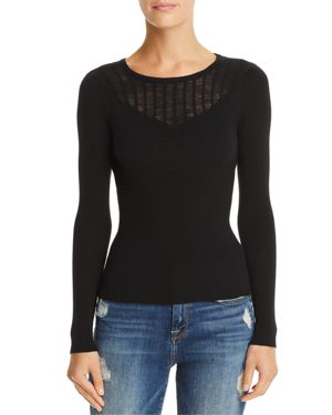Aqua Illusion Mixed-Stitch Sweater - 100% Exclusive