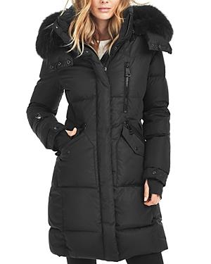 Sam. Highway Fur Trim Down Coat