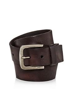 John Varvatos Star USA Embossed Camo-Print Leather Belt - Bloomingdale's_0