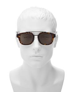 Dior - Men's Fraction Brow Bar Square Sunglasses, 50mm