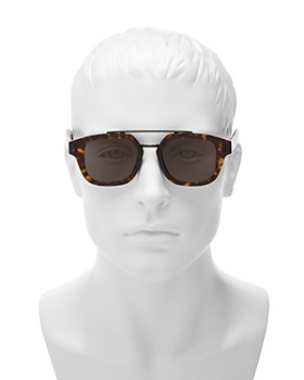 Dior Homme - Men's Fraction Brow Bar Square Sunglasses, 50mm