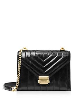 e1ccbd6d016e MICHAEL Michael Kors - Whitney Large Quilted Leather Shoulder Bag ...
