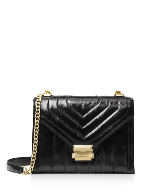 Michael Kors Whitney Large Quilted Leather Shoulder Bag