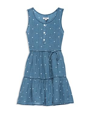 New Rails Girls' Kate Polka-Dot Dress - Big Kid, Dress, Indigo White Polka Dots