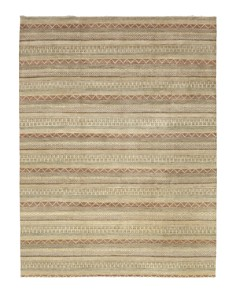 """Solo Rugs - Savannah Belfast Hand-Knotted Area Rug, 9' 0"""" x 12' 4"""""""