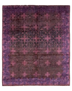"""Solo Rugs - Vibrance Ceros Hand-Knotted Area Rug, 8' 1"""" x 10' 0"""""""