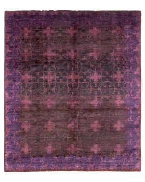 Solo Rugs Vibrance Ceros Hand-Knotted Area Rug, 8' 1 x 10' 0