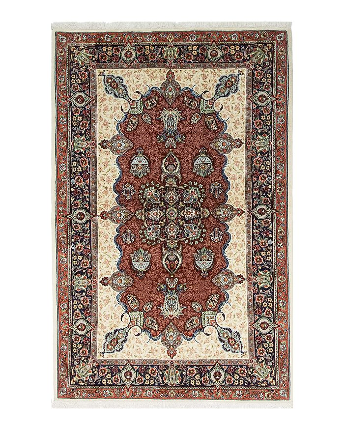 Solo Rugs Sarouk Paris Hand Knotted