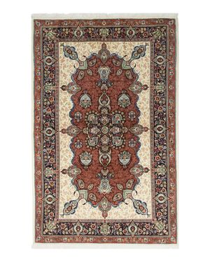 Solo Rugs Sarouk Paris Hand-Knotted Area Rug, 4' 5 x 6' 10