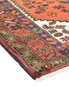 """Solo Rugs - Hamadan Micah Hand-Knotted Area Rug, 3'6"""" x 5'0"""""""
