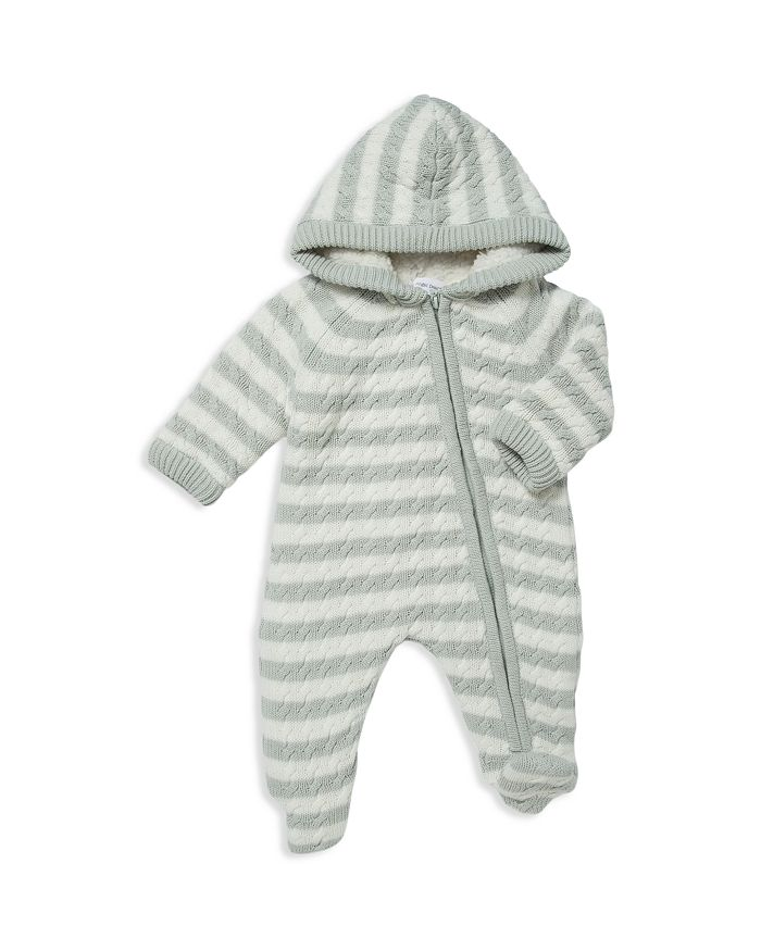 Angel Dear - Unisex Sherpa-Lined Knit Footie - Baby
